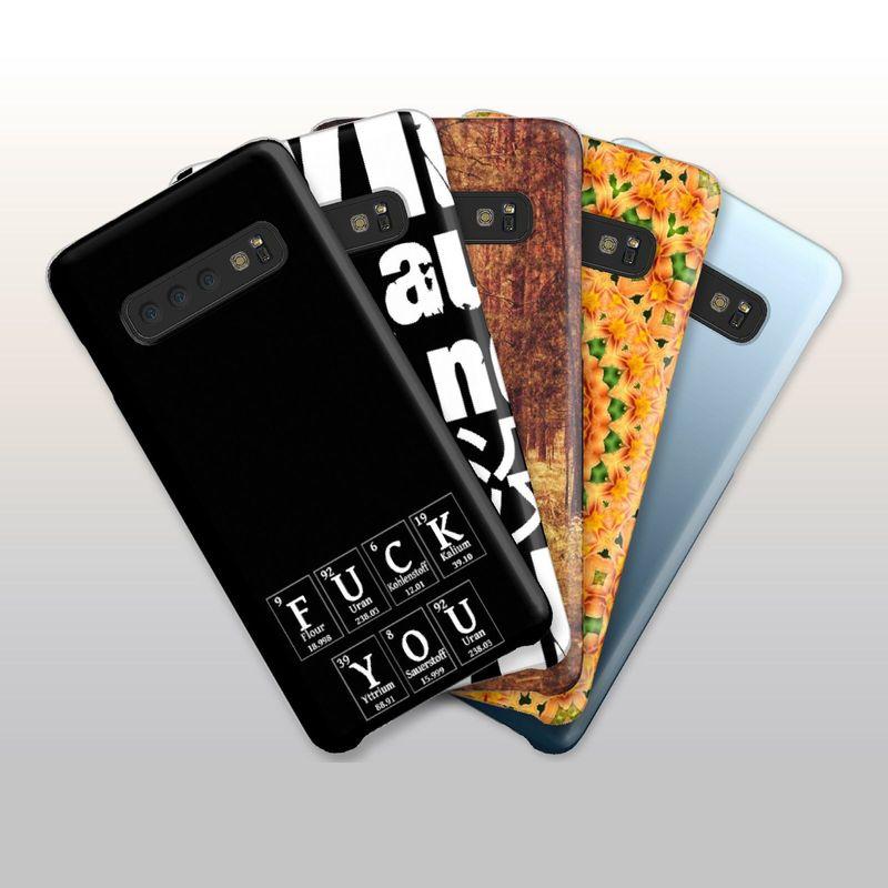 three different iphone cases